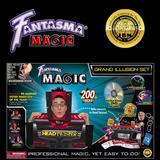 Fantasma Grand Illusion Kit Set Juego De Magia +200 Trucos