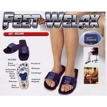 Sandalias Y Guantes De Acupuntura Feet Welax Y Silky Gloves