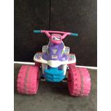 Montable Moto Niña Power Wheels Barbie Eléctrica De 6v 4 Km