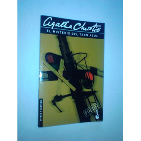 Novela Policial Agatha Christie , El Misterio Del Tren Azul.