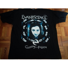 Remera Evanescence Xl Original Locuras Fallen.