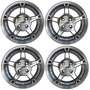 Kit 4 Llantas Aleacion Tvw 5162 Rodado 14 4x100 Vw Fiat Gm