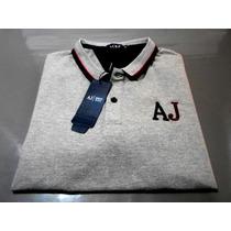Camisa Pólo Giorgio Armani Importada 100% Algodão