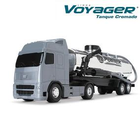 Caminhão Tanque Cromado Voyager C/ Bomba D