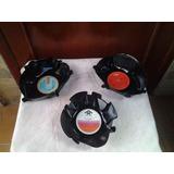 Set 3 Bandejas Discos De Acetato Pasapaleras/ Decorativas