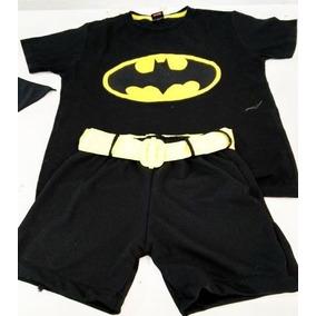 Batman Roupa Infantil Fantasía Tamanho 0 A 4 Anos