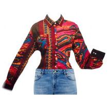 Camisa Tribal Colores De Gasa