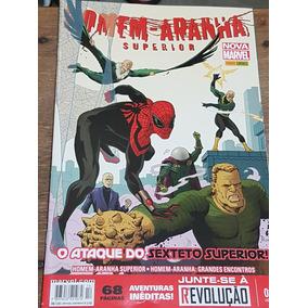 Lote Coleção Revistas Homem-aranha Superior