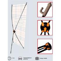 Xbanner 60*160 Cm.fibra De Vidrio/bolsa Lona/sin Impresion,