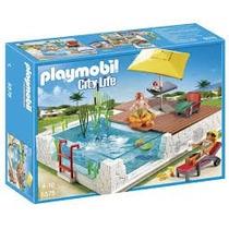 Playmobil 5575 Piscina Con Terraza