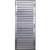 Porta Palheta De Alumínio Brilhante 2,10 X 0,80 Esquerda
