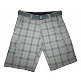 Shorts Bermuda Masculina Tamanhos Grandes Cinto De Brinde