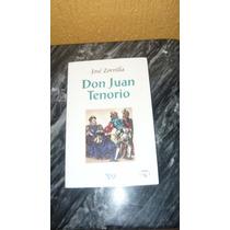 Libro Don Juan Tenorio - Jose Zorrilla