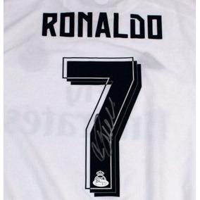 Jersey Autografiado Cristiano Ronaldo Real Madrid adidas