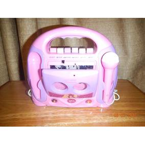 Grabadora Reproductora Cassette Karaofe Niña