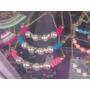 Collares Bellos De Cordon De Algodón Con Perlas