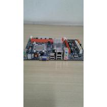 Placa Mãe Megaware G41t- M7 Ddr3 Com Intel Dual Core- E5200