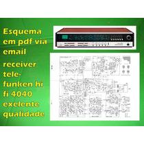 Esquema Em Pdf Via Email Receiver Telefunken Hi Fi 4040
