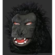 Máscara Animal Macaco Gorila C/ Pelo - Terror / Carnaval