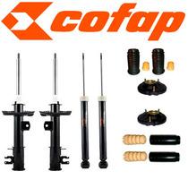 Kit 4 Amortecedores Punto 1.4 / 1.8 + Kits+ Coxim+ Cofap