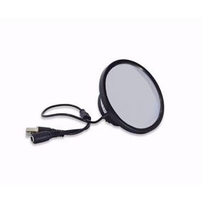 Câmera Camuflada Em Espelho Ccd 1/3 Sony 480 Linhas(pequena)