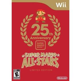 Super Mario All Stars 25th Nintendo Wii Edição Limitada