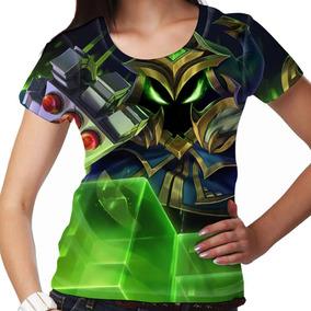Camiseta League Of Legends Veigar Chefão Final Feminina