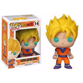 Dragon Ball Z - Boneco Ss Goku Pop Animation Funko 10cm