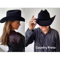 Chapéu Cowboy Country (peão De Rodeio) Masculino E Feminino