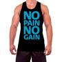 Regata De Musculação Academia No Pain No Gain Fitness Gym