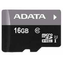 Tarjeta Micro Sd 16gb Adata Premier Clase 10 Uhs-1 50mb/s