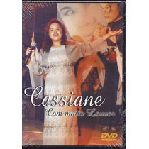 Dvd Cassiane - Com Muito Louvor (mk_music)