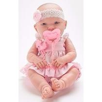 Boneca Baby Ninos Igual Bebe De Verdade Da Cotiplas