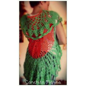 Chaleco De Hilo Crochet Colores Ultima Moda Verano 2017