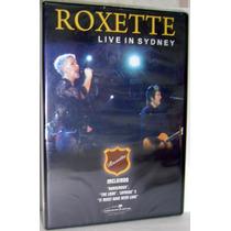 Dvd Roxette - Live In Sydney