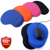Lote 5 Mouse Pad Excelente Calidad Diferentes Colores