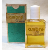 Antigua Locion Colonia Ambré Roseto Perfumes Sin Usar