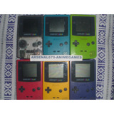 Game Boy Color Una Consola Con Un Juego Gbc
