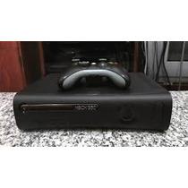Xbox 360 Fat + 300 Jogos Paralelos Em Disco + 2 Controles