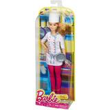 Barbie Quiero Ser Cocinera Cheff Mattel Original