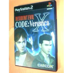 Resident Evil X Code: Veronica Ps2 Original C/caja S/ Manual