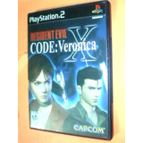 Resident Evil X Code: Veronica - Ps2 - Original - Sin Manual