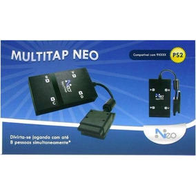 Adaptador Multitap 4 Player Ps2 Playstation 2 Frete Grátis