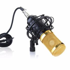 Microfone Estúdio Profissional Bm800 Condensador Phantom