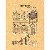 Proceso De Elaboración De La Cerveza De Patentes Impresión