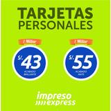 Tarjetas De Presentacion - Volantes Publicitarios - Peru