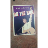 Tour Program, Paul Mc Cartney, On The Run