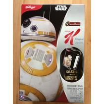 Star Wars The Force Awakens Cereal Rey Bb-8 Caja Lámina