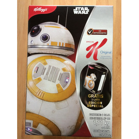 Star Wars The Force Awakens Cereal Rey Bb-8 Caja Lámina