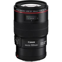 Lente Canon Nova Ef 100mm F/2.8l Macro Is Usm